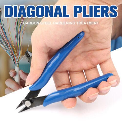 Cisaille Lock Câble Stripper Mini Flush Pince fil électrique Cutter Side Snips
