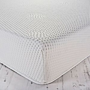 memory foam mattress toppers with zipped cover easy to remove wash