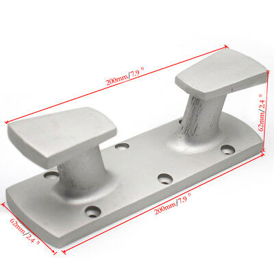 1PC Marine Double Cross Bollard Cleat 316 Stainless Steel for Boat Well Made
