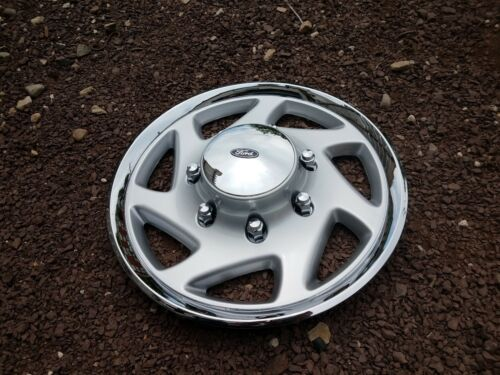 """1 New 95 96 97 98 99 00 01 F250 F350 Econoline Van 16/"""" Hubcap Wheel Cover 923"""