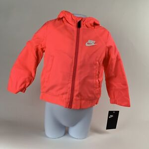 c520c2f9548b Image is loading TODDLER-GIRLS-Nike-Fleece-Full-Zip-Hoodie-Jacket-
