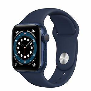 Smartwatch Apple Watch Serie 6 GPS 40mm Cassa alluminio Blue Cinturino Deep Navy
