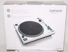 LENCO L-3808 Plattenspieler Direktantrieb Weiß