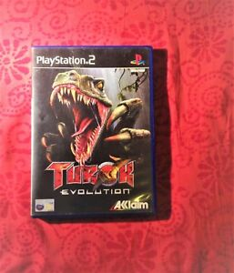 Turok-Evolution-PS2-COMPLETE-Pal-UK-with-game-s-manual