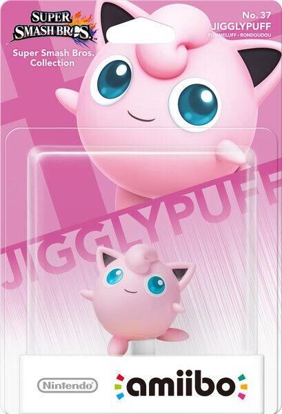 Amiibo Super Smash Bros. No. 37: Jigglypuff (new)