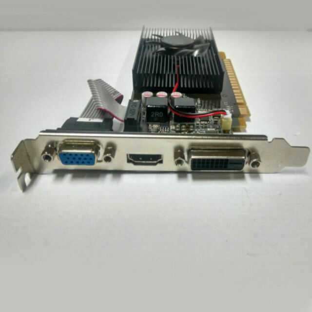 US GT730 2GB GDDR3 64bit PCI-E Gaming Video Graphics Card for NVIDIA GeForce