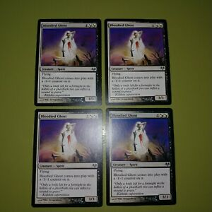 Bloodied-Ghost-x4-Eventide-4x-Playset-Magic-the-Gathering-MTG