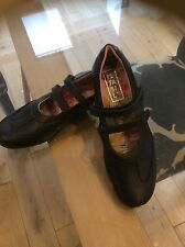 Further PRICE REDUCTION TO CLEAR- NEW -Petasil girls black leather shoe size 38