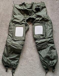 New Genuine British RAF Eurofighter Anti-G Trousers Full Coverage Beaufort RFD
