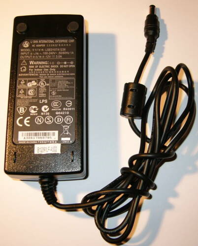12V DC 3 Ampere Compact Power Supply Power Adapter Li Shin LSE0107A1236