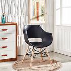 4x Eiffel Tube Chaise Salle À Manger Olivia Style Concepteur De Blanc Noir Gris