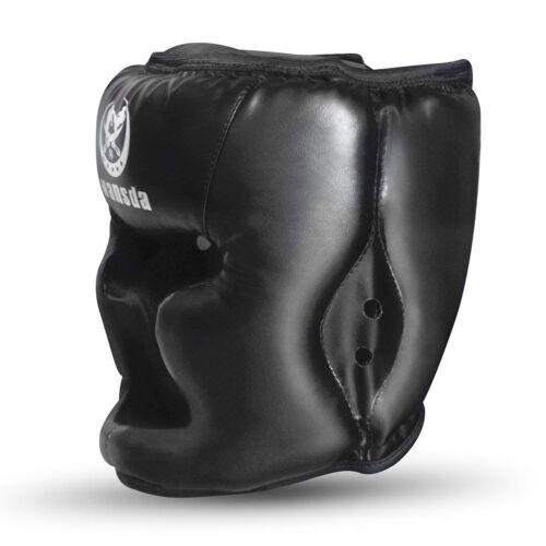 Headgear Head Guard Training Kick Boxing Protect Game Sparring Gear Face Helmet