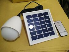 Solar pir led light with remote control