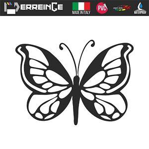 Sticker-FARFALLA-Adesivo-Parete-Decal-Laptop-Murale-Vinile-Casco-Auto-Moto-Casa