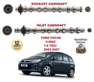 Para-Ford-Focus-C-Max-1-6-Tdci-2003-2007-nueva-entrada-amp-Motor-de-escape-del-arbol-de-levas