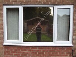 Reflective silver 20 75cm x 9 m-miroir solaires d/'une façon Fenêtre Intimité Film Teinte