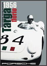 Targa Florio 1956 Race Poster print A3