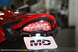 14-17 ducati monster 797 821 1200 integrated signal led tail light