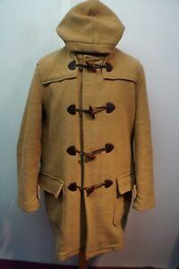 Vintage-hombre-Barbour-de-LANA-de-casimir-Duffle-Abrigo-Con-Capucha-Talla-M