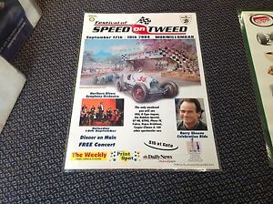 FESTIVAL-OF-SPEED-ON-TWEED-2004-Event-poster-laminated