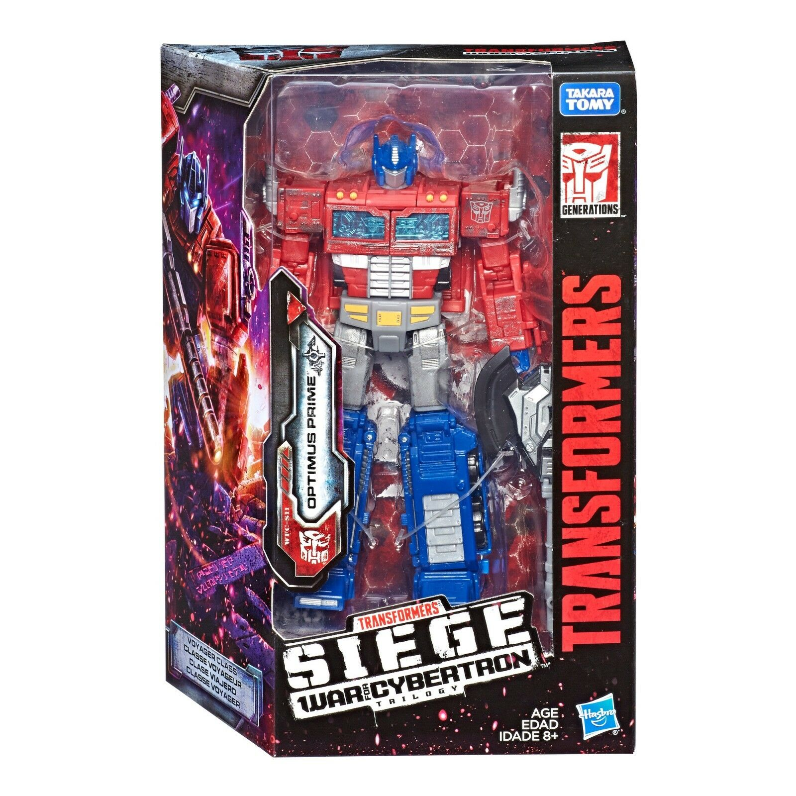 (InHand) Transformers Generations War for Cybertron Siege Voyager Optimus Prime