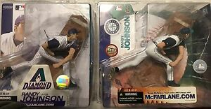 McFARLANE MLB SERIES 7 Randy Johnson Chase VARIANT Rétro Edition Mariners
