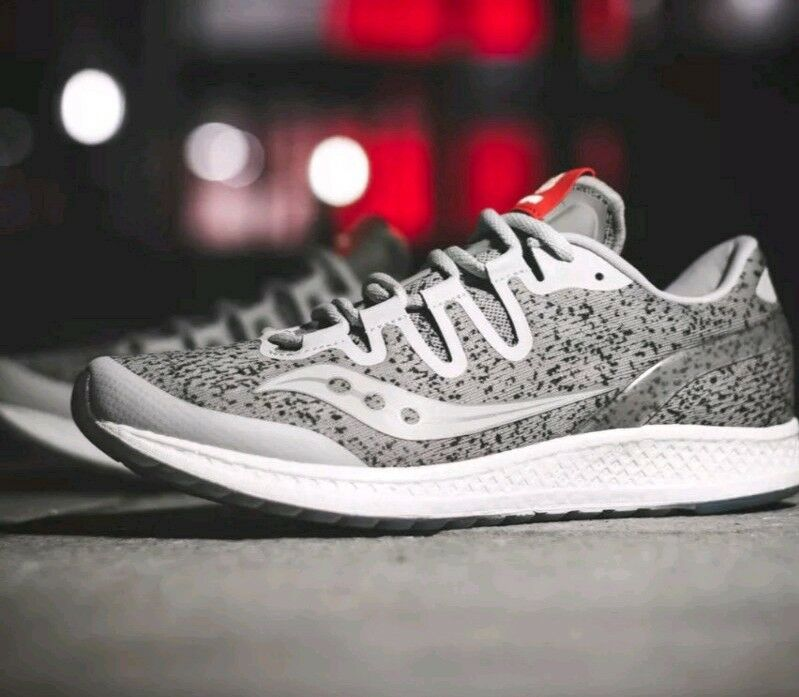 HANON X SAUCONY FREEDOM ISO GRANITE  218 PAIRS MADE TOTAL - EXTREMELY RARE -