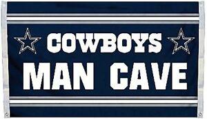 4d8d6c7af62 Dallas Cowboys Huge 3 x5  NFL Licensed Man Cave Flag   Banner - Free ...