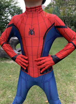 Homecoming Cosplay Costume 3D Printed Zentai Suit Halloween Cool Spider-Man