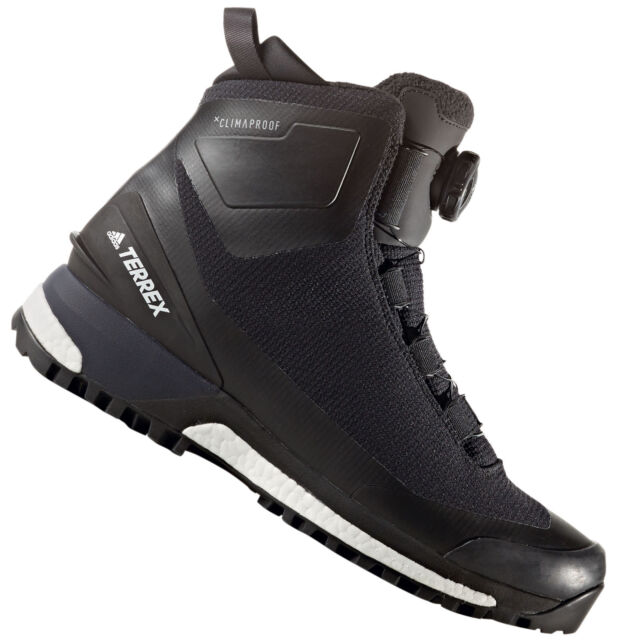 new concept a6792 b0653 adidas Performance Terrex Conrax Boa Mens Winter Shoes Winter BOOTS EUR 46  2/3 (uk 11 5) Black S80753 for sale online | eBay