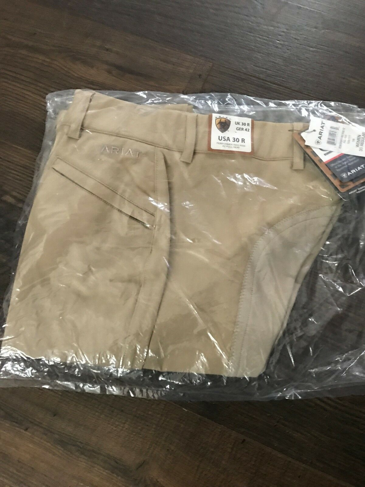 Ariat performer regular rise full seat women's riding pants size 30 regular