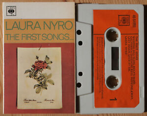 LAURA-NYRO-THE-FIRST-SONGS-CBS-40-64991-1973-UK-CASSETTE-TAPE-VG-COND