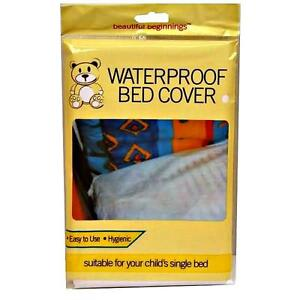 WATERPROOF-CHILD-BED-SHEET-COVER-SINGLE-MATTRESS-PROTECTOR-PLASTIC-KID-WETTING