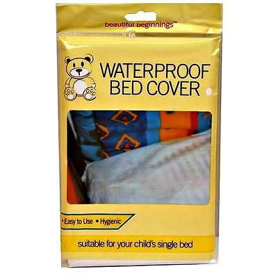 BED WETTING WATERPROOF SHEET COT COVER PROTECTOR CHILD ...