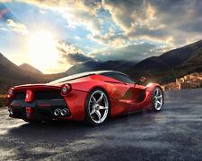"Ferrari Luxury Super Race Car Art Silk Wall Poster 36/""x13/"" inch 134"
