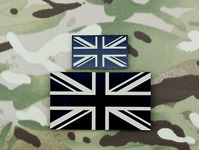 Infrared Multicam Union Flag Punisher Patch British Army UKSF SAS SBS SRR SFSG
