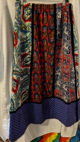 Vintage Mountain Artisans Wool BOHO Lined Patchwor