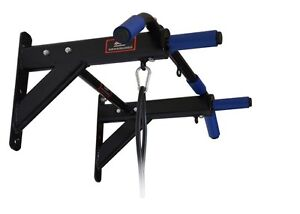 Wall-Mount-Pull-up-Bar-Chin-up-with-Pull-Straps-Exercise-Equipment-For-Home-Gym