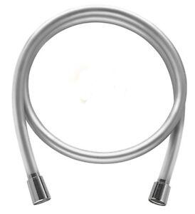 Brauseschlauch-Duschschlauch-Silber-glatt-Anti-Twist-50cm-250cm