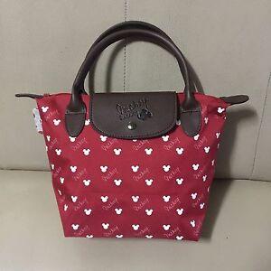Walt-Disney-Mickey-Mouse-Bag-Handbag-Red-Purse-Shopper-Shoulder-Tote-Bag-8-034-x12-034