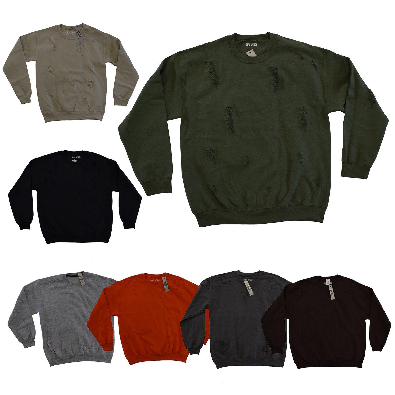 9deuce Custom Distressed Rundhals Sweatshirt TOP
