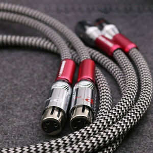 High-Quality-Silver-Plated-XLR-cable-Audio-XLR-balanced-interconnect-cable