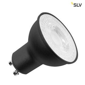 SLV-1001563-LED-Leuchtmittel-QPAR51-GU10-7-2W-36-3000K-schw