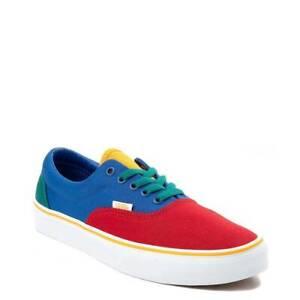 7514701b8d Vans Era Color-Block Skate Shoe Multi Red Green Yellow Blue Yacht ...