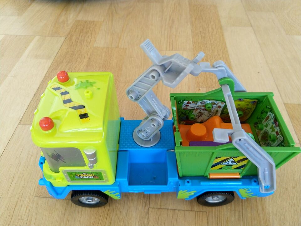 Blandet legetøj, Trashpack og Ugly Pet shop figurer