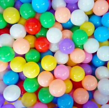 100 Pcs Baby Kid Pit Toy Game Swim Pool Soft Plastic Ocean Ball 5.5cm US Stock