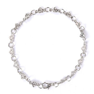 Frauen Herz Kettenglied Armband Armband Silber Charm Manschette Armreif SchmuXUI