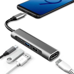USB-C-Hub-HDMI-Adapter-Power-for-Samsung-Dex-Station-S10E-S8-S9-S10-Plus-RREAKA