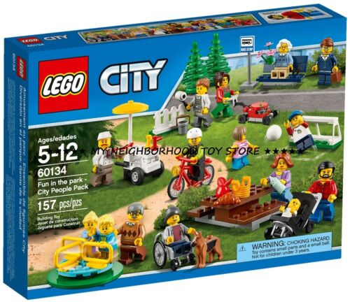 PRON LEGO 60134 CITY DIVERTIMENTO AL PARCO FUN IN THE PARK PEOPLE PACK CONS