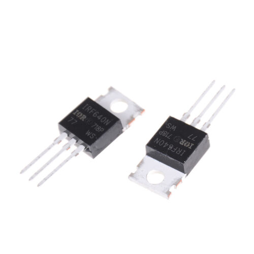 10PCS New IRF640 IRF640N Power mosfet 18A 200V TO-220 bdbaca